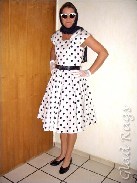 Kleider 50er stil frauen