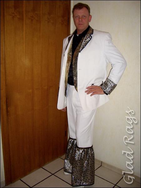 70er Jahre Herren Anzug Kostüm