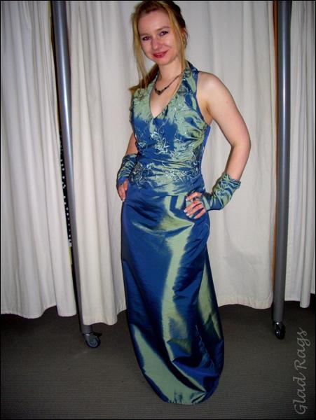 Abendkleider lang 48