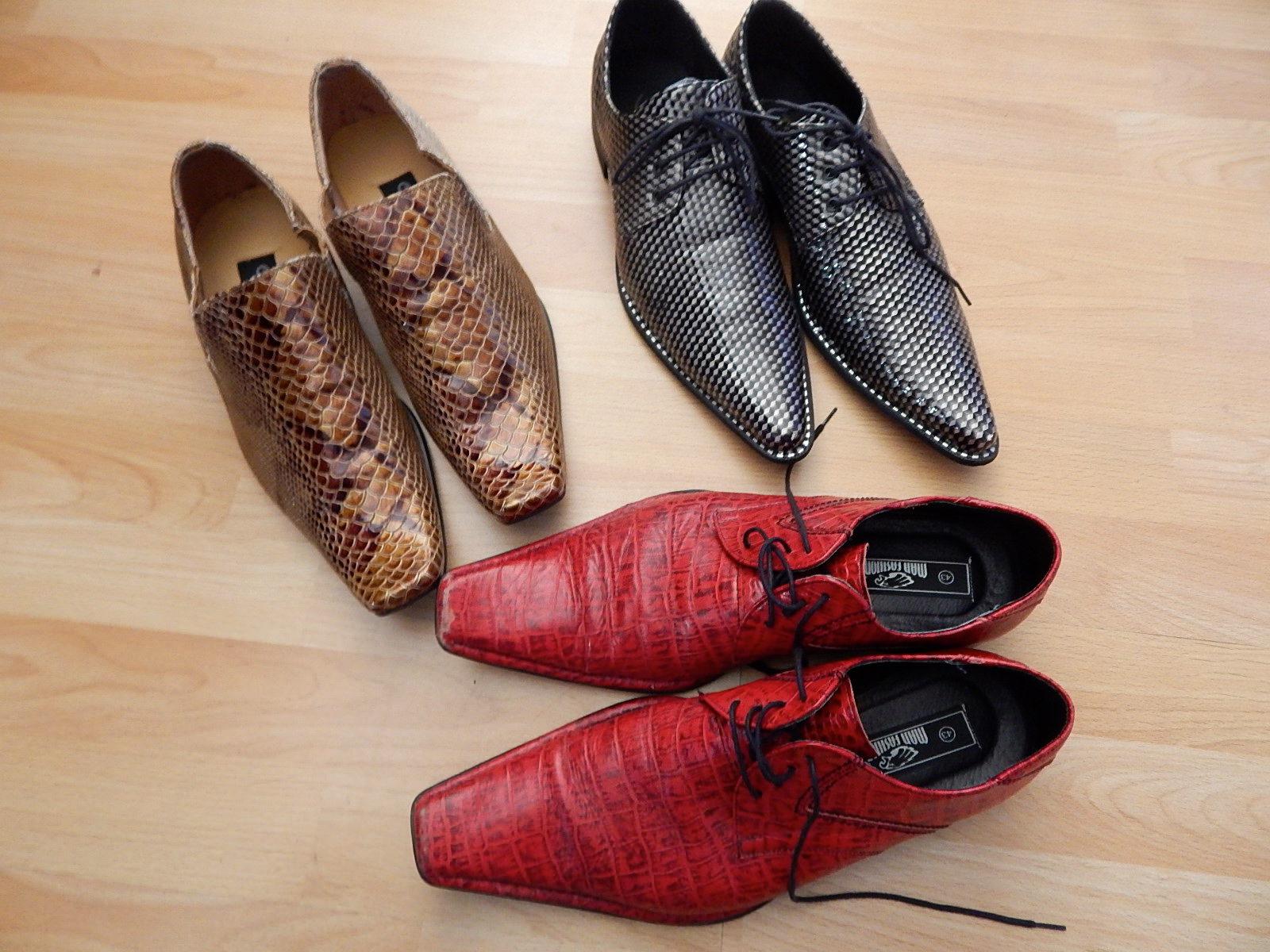 Schuhe 50er stiefel