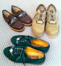Schuhe zum Oktoberfest