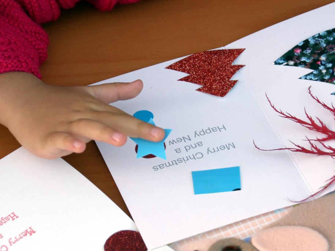 weihnachtskarten selbst gestalten tipps und anregungen. Black Bedroom Furniture Sets. Home Design Ideas
