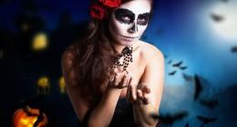 Schminken als Hexe: Gruseliges Halloween-Fest