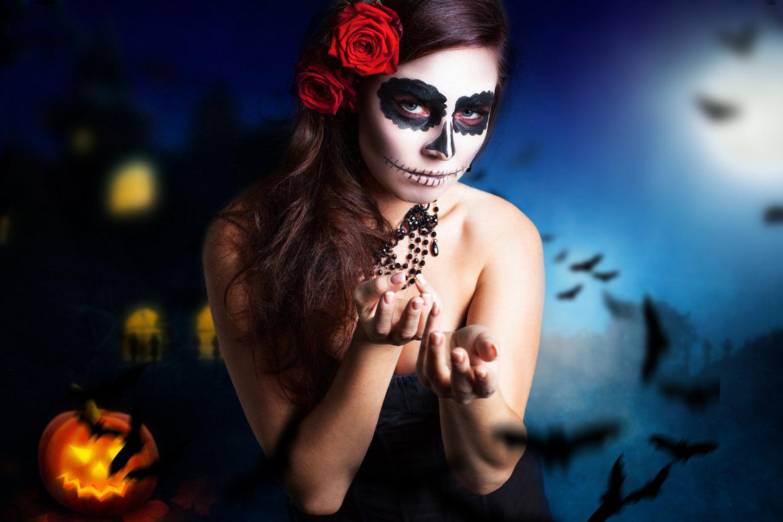 schminken als hexe gruseliges halloween fest glad rags. Black Bedroom Furniture Sets. Home Design Ideas