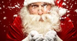 Wie kleidet sich der Weihnachtsmann?