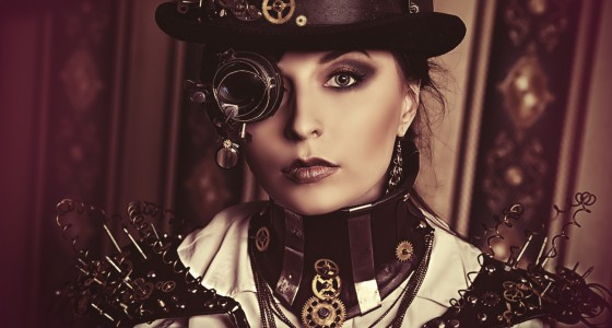 Das passende make up f r das steampunk kost m glad rags for Schminken 20er