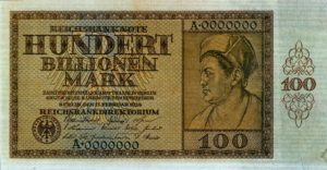 100 Billionen Mark-Geldschein